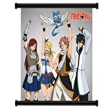 "Fairy Tale Anime Fabric Wall Scroll Poster (16""x17"") Inches"