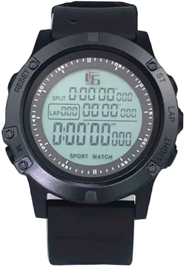 XHXseller Cronógrafo Digital Profesional Cronómetro Deportivo, cronómetro/Reloj/Reloj Digital Deportivo para Hombre, Juego de Partido de cronómetro de fútbol para Entrenador Deportivo