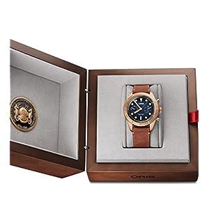 Oris Carl Latón Cronógrafo Edición Limitada Bronce Reloj 01 771 7744 3185-Set LS 6