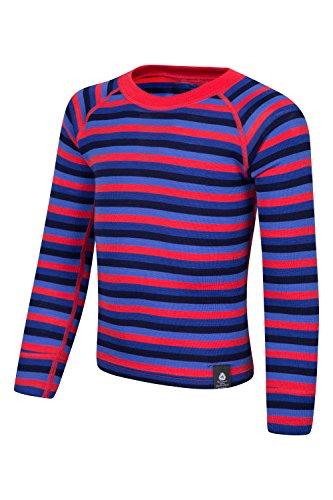 mountain-warehouse-merino-kids-stripe-round-neck-top-dark-purple-11-12-years