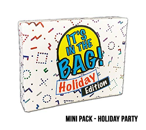 Gatwick Games It's in The Bag!-Holiday Party-Newest Game for Parties! Halloween, Thanksgiving, Christmas! Laugh Out Loud in This Game of Teamwork. Describe, Guess & Charades! Act Fast! 4-20 -