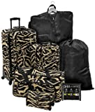 Quest Getaway 7 Piece Luggage Set, Bags Central