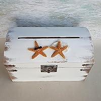 Mr & Mrs Starfish Beach Wedding Card Box