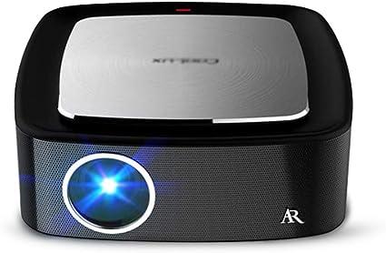 LHR888 Proyector Conferencia en casa pequeño proyector de teléfono ...