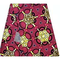 Ankara Fabric African Print Clothing Designs- Wax Material For Fashion, Dresses, Top, Skirt, Jewelry, Shoes, Bags...