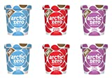 Arctic Zero Vanilla Bean, Cookies Cream and Toffee Bakery and Dessert Gifts, 16 Fluid Ounce (pack Of 6)