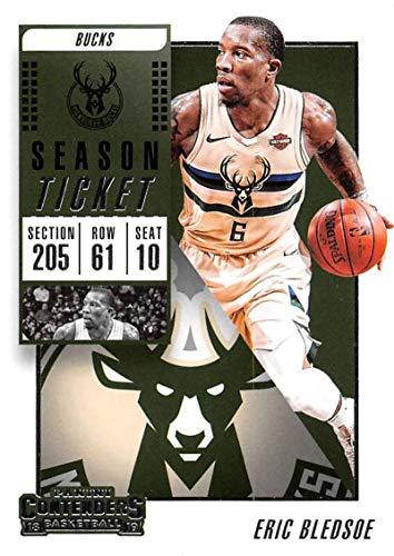 2018-19 Panini Contenders Season Ticket #21 Eric Bledsoe NM-MT Milwaukee Bucks Official NBA Basketball Card