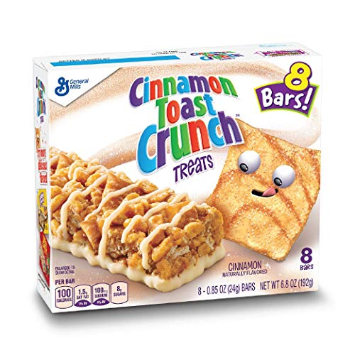 Crunch Granola Cinnamon (Cinnamon Toast Crunch Treats 8 ct Box (pack of 12))