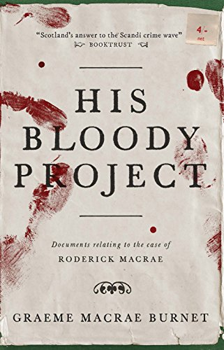 Book cover for His Bloody Project