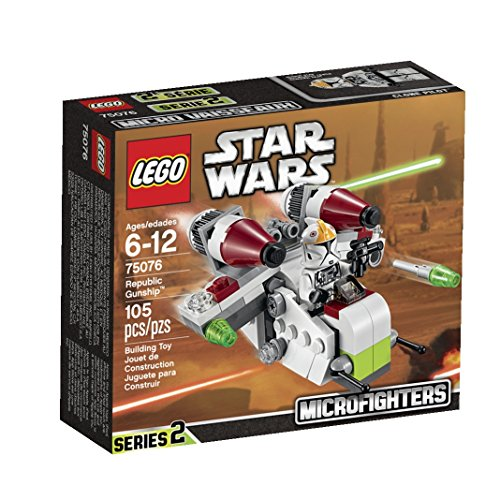 LEGO Star Wars Microfighters Series 2 Republic Gunship - Lego Star Wars Clone Gunship
