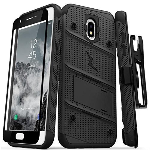 ZIZO Bolt Series Galaxy J7 2018 Case Military Grade Drop Tested with...