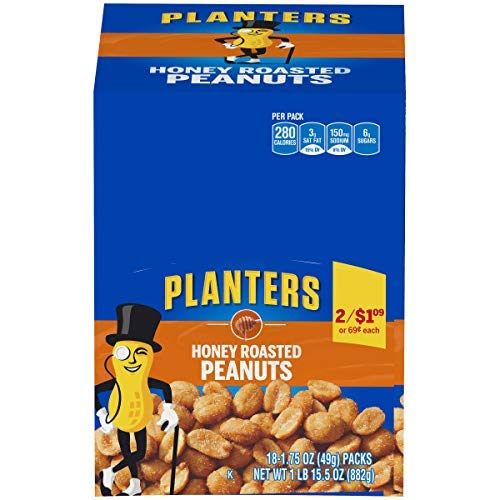 Planters Honey Roasted Peanuts (1.75 oz Bag)
