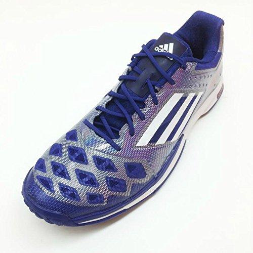 Adidas Badminton adizero feather B40487 bleu foncé