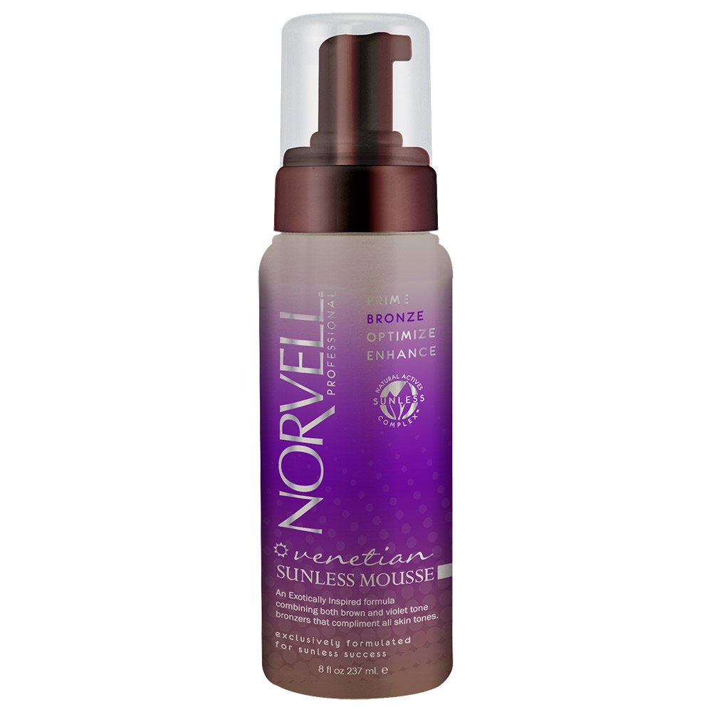Norvell Professional Venetian Sunless Mousse 8 Oz Norvell Tanning