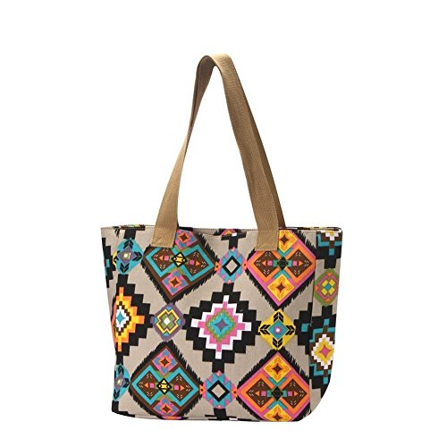 Aztec With Joe Polyester By Made Shopper Neon Cool Bag qERIwx7