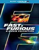 Fast & Furious 6-Movie Collection Blu-ray + Digital