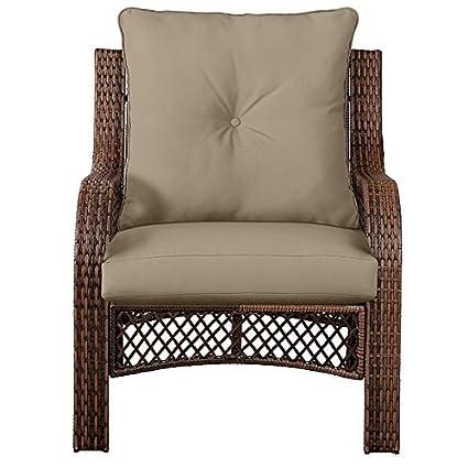 Charmant Outdoor Patio Deep Seat Chair Cushion Set Seasonal Replacement Cushions  25u0026quot;x25u0026quot;x6u0026quot;