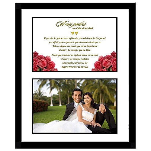 Parents on My Wedding Day Gift in Spanish (A mis padres en el día de mi boda) Add (To Own In Spanish)