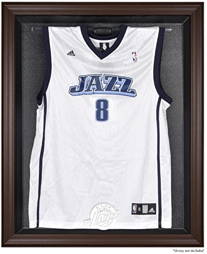 Utah Jazz Jersey Display Case by Mounted Memories