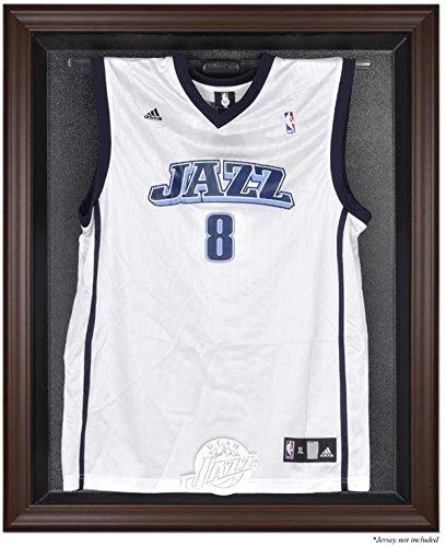 Utah Jazz Jersey Display Case by Mounted Memories