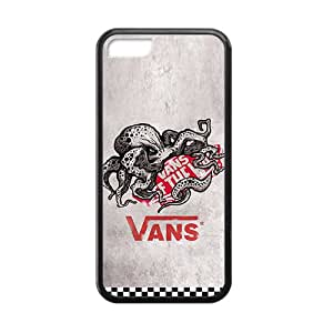"""SANLSI Vans """"off the wall"""" fashion cell phone case for iPhone 5C"""