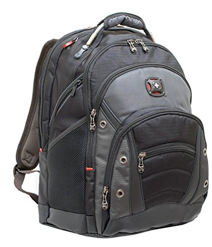 SwissGear® Synergy Backpack With 16'' Laptop Pocket, Black/Grey by Swiss Gear