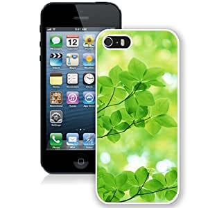 Nature Sunshine Green Leaves (2) Durable High Quality iPhone 5S Phone Case