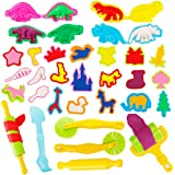Bigib Fun Molds Set Play Kids Clay Doh Tools Playsets Dough Art Tools Sets Included Party Pack Favors Toys