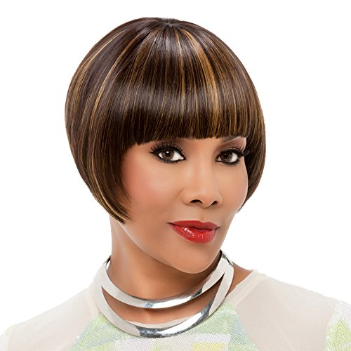Vivica A. Fox WP-LUCY-V New Futura Fiber, Weave Cap in Color P43033 ()