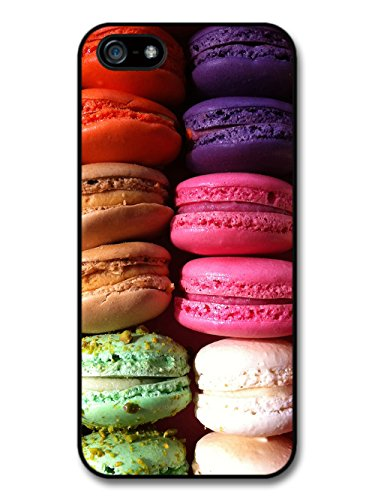 Cool Food Photo of Multicoloured Macaroons Grunge Goth case for iPhone 5 5S