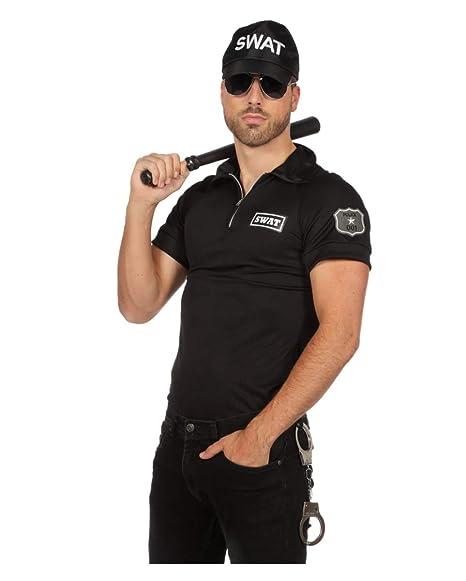 Horror-Shop SWAT Agente De Los Hombres De Disfraces De Camisa 52 ...
