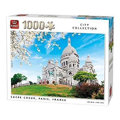 King 5703 Sacre Coeur Paris Jigsaw Puzzle