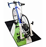 New 'Green Flow' Garage / Workshop / Bike Turbo Trainer Floor Mat (180cm x 80cm)