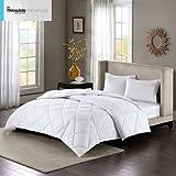 Alternative Comforter - Sleep Philosophy Level 3: Warmest 3M Thinsulate Down Alternative Comforter, Full/Queen
