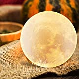 Moon Lamp Night Light,Rechargeable Timing Moon