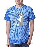 """The Silo TIE DIE BLUE Dallas """"Dirk"""" T-Shirt"""