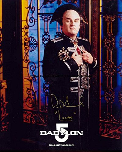 Babylon Five 5 Autographed Preprint Signed 11x14 Poster Photo