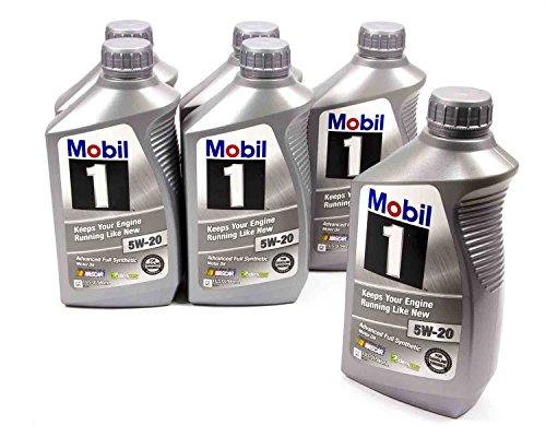 5W20 Motor Oil 1 qt Case of 6 P/N - Mobil 1 44975