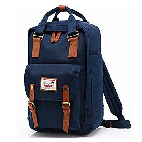 Travel Outdoor Computer Backpack Laptop bag big (darkblue) - 2