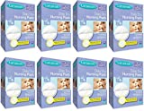 Lansinoh Stay Dry Disposable Nursing Pads, Number One Selling Breastfeeding Pad For Breastfeeding Mothers, Leak Proof Protection, Maximun Comfort and Discretion, 8 Packs of 60 Count (240 Count)