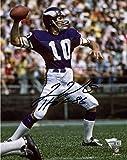 #2: Fran Tarkenton Minnesota Vikings Autographed 8