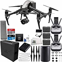 DJI Inspire 2 Premium Combo with Zenmuse X5S and CinemaDNG and Apple ProRes Licenses Cinematographer 480G PRO Essential Bundle