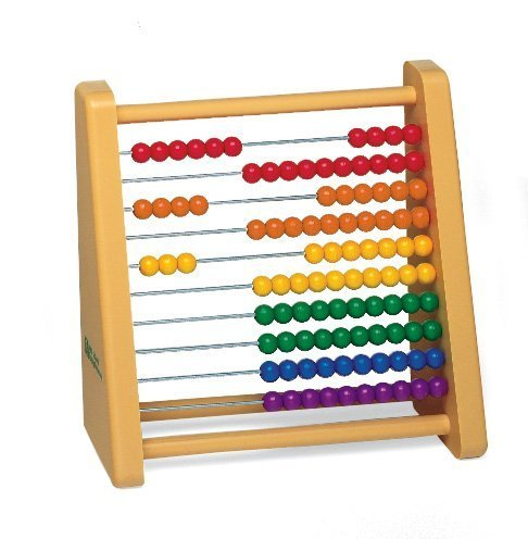 - Plastic Ten-Row Counting Frame