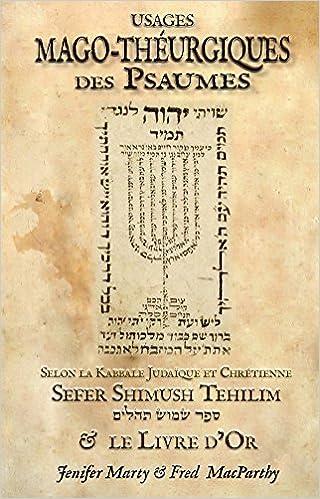 Livre Usages Mago-Théurgiques des Psaumes sur Amazon
