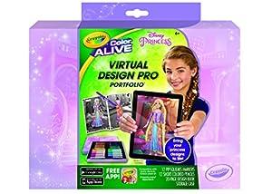 crayola color alive disney princess virtual design pro portfolio - Crayola Disney