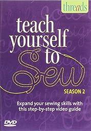 Thread\'s Teach Yourself to Sew DVD - Season 2