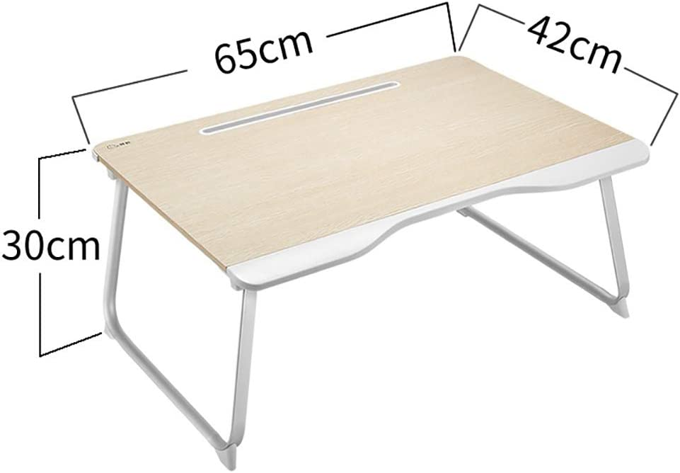 Yajun Lap Bed Table Tray Foldable Desk Dorm Room Notebook Holder Fashion Computer Stand Handle Design Breakfast Reading Bracket