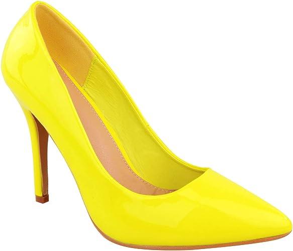 Ladies Womens Bright Fluorescent NEON