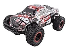 FEATURES:  Durably constructed  Off-Road Suspension   Big all-terrain rubber tires for stable performance   2.4ghz system blocks other radio interference.  Full function - forward/reverse drive and left/right steering  Front suspension will a...