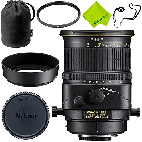 Nikon PC-E Micro-NIKKOR 45mm f/2.8D ED Tilt-Shift Lens Base Bundle